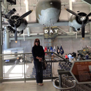 Research at the World War II Museum in New Orleans